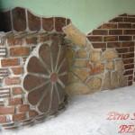 Estikina fasada od starog crepa 2