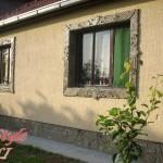 Cokna i bordura oko prozora od starog crepa - Jelka