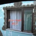 Bordura oko prozora od starok crepa - Zoran