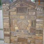 Grofova ograda od stare cigle i crepa 3