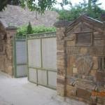 Grofova ograda od stare cigle i crepa 2