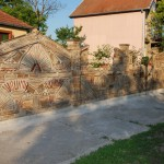 Bagas ograda od strare cigle i crepa 4