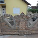 Bojanova ograda od stare cigle 3