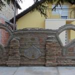 Bojanova ograda od stare cigle 2