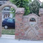 Milana ograda od stare cigle 2