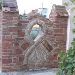 Milana ograda od stare cigle 1