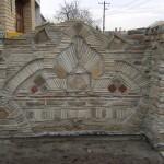 Banetova ograda od stare cigle i crepa Vrbas 1
