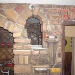 Radina kuhinja od stare cigle