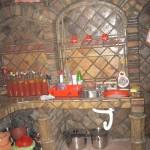 Radina kuhinja od starog crepa